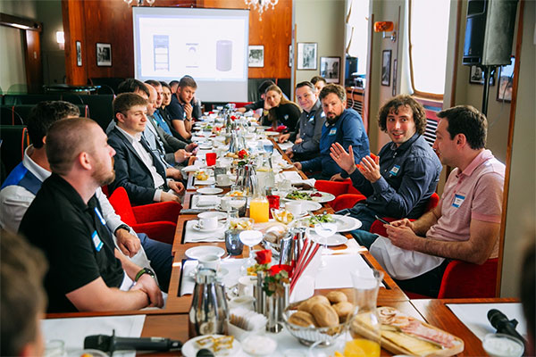 An overview of a Closed-door Business Breakfast in Kiev: What Are Retailers Talking About? AI, algorithms, data, etc.