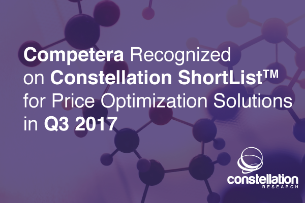 This ShortList for Price Optimization Solutions is compiled through conversations with clients, independent analysis, and briefings with partners.