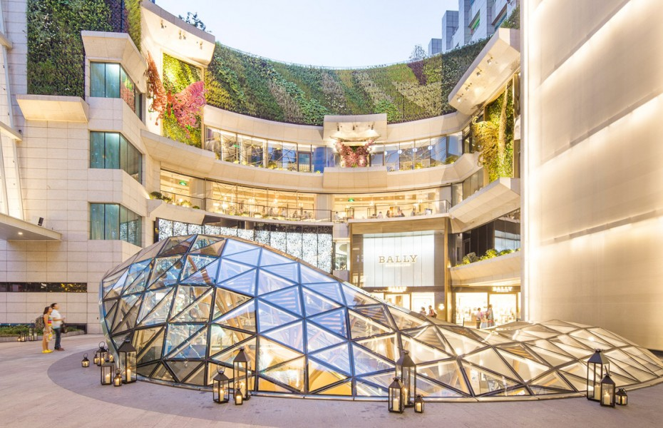 K11 shopping mall in Shanghai, China